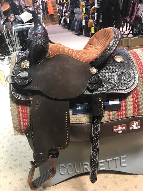 "16"" Show Saddle by Big Horn"