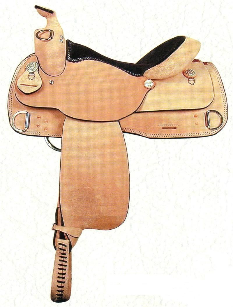 "16"" Training Saddle from Dakota Saddlery"