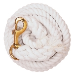 White Cotton Lead Rope by Weaver Leather