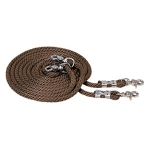 Poly Rope Draw Reins, 1/2'' x 16' by Weaver leather