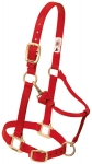 "Premium Adjustable 1"" Halter w/Throat Snap"