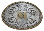 Oval Initial Buckle by Nocona Belt Co.