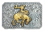 Bucking Bronco Buckle by Nocona Belt Co.