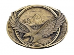Soaring Eagle Buckle by Montana Silversmiths