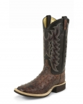Men's Almond Vintage Full Quill Ostrich Boot by Tony Lama