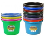 8 Quart Flat Back Buckets by Miller Manufacturing