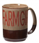 """Farmgirl"" 16oz. Mug"