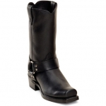Black Men's Durango Harness Boots