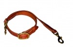 "1"" Herman Oak Harness Leather Tie Down by Berlin Leather Company"