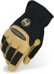 Black and Tan Stable Gloves by Heritage Gloves