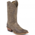 Men's Tan Vintage Cow Square Toe Boot by Nocona