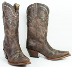 Women's Chocolate Rancho Boot by Tony Lama