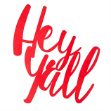 Hey Y'all 3-D Cursive Metal Wall Decor in Red Finish