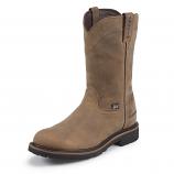 Men's Wyoming Waterproof Steel Toe Work Boot by Justin Work Boots