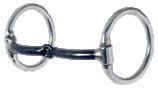"Western Dee-3/8"" Smooth Sweet Iron Snaffle"