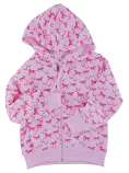 Kid's Running Horse Zip Up Hoodie by Kiddie Korral