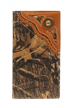 Rodeo Wallet with Shotgun Shell Concho and Lace