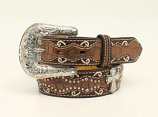 Girl's Metallic Brown Croc Belt by Ariat