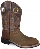 Kids Jesse Brown Distressed Boot by Smoky Mountain