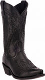 Men's Laramie Black Goat Boot by Laredo