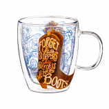 """This Princess Wears Boots"" Class Mug 12oz by Evergreen"