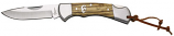 Sagebrush Lockback Knife in Zebrawood