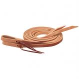 Hermann Oak Single-Ply Heavy Harness Split Reins by Weaver