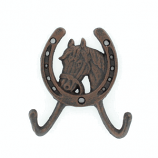 Horsehead Wall Mount Coat Hook