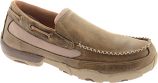 Men's Driving Moc by Twisted X Boots Bomber Slip On