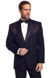 Men's Black Tuxedo Coat by Circle S