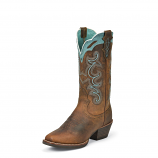 Women's Rugged Tan Buffalo Boot by Justin