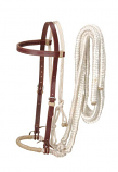Loping Hackamore with Reins by JT International