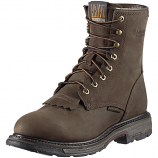 Men's Oily Distressed Brown Work Hog H2O Boot by Ariat