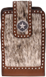 Large Brown Star Concho Smartphone Holder by 3D