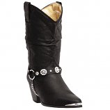 Women's Black Pigskin Olivia Boot by Dingo