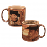 "John Wayne ""Courage"" 20 oz. Ceramic Mug by Vandor"