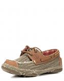 Women's 3R Casual Canvas Straw Shoe by Tony Lama