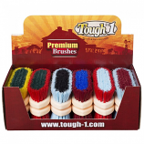 Tough 1 Medium Two Tone Bristle Brush by JT International