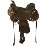 "Tucker Black Mountain Trail Saddle - 16.5"" Wide"