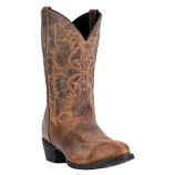 Men's Distressed Round Toe Boot by Laredo