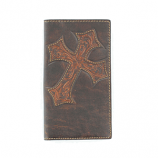 Rodeo Wallet with Diagonal Cross