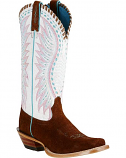Women's Cracked Dervy Brown Boot by Ariat