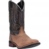 Men's Montana Square Toe Leather Boot by Laredo