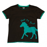 Women's Hot To Trot Womens PJ Tee by Lazy One