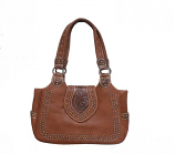 Bulverde Concealed Carry Tooled Hand Bag by Western Fashion Accessories