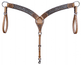 Copper & Crystal Breast Collar by Bar H