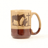 Cowboy Prayer Coffee Mug