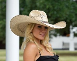 Mariposa Straw Hat by Charlie One Horse