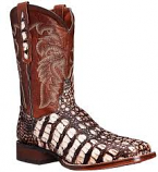 Men's Everglades Cowboy Certified Flank Caiman Boot by Dan Post Boots