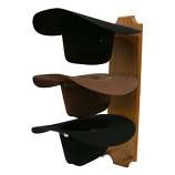 Triple Cowboy Hat Rack by Running D Products